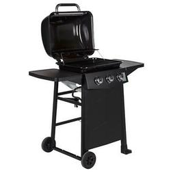 Dyna-Glo Propane Gas Grill 3-Burner Open Cart Stainless Stee