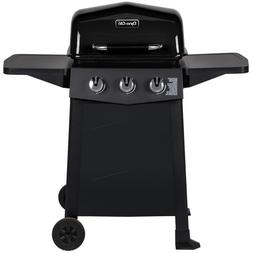 Dyna-Glo Propane Gas Grill 3-Stainless Steel Burners Open Ca