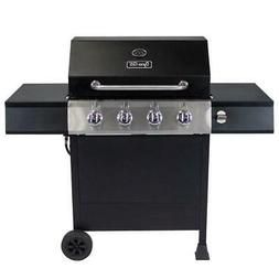 Dyna-Glo Propane Gas Grill 4-Burner Rust Resistant Porcelain