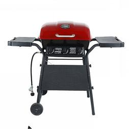 Expert 3 Burner Gas Grill, Red