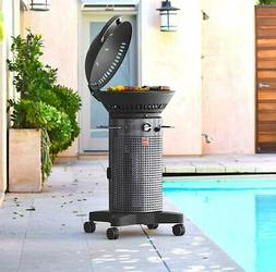 Fuego F21S-H Element Hinged Propane Gas Grill Stainless Stee