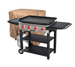 Camp Chef Flat Top Grill 600 with Grill Cover - Bundle