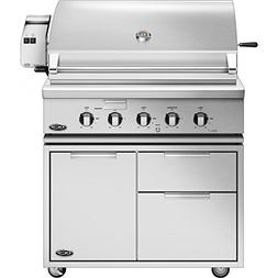 Dcs Professional 36-inch Freestanding Natural Gas Grill With