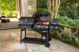 Gas and Charcoal Grill Dual-Function Combo Grill BBQ Outtdoo