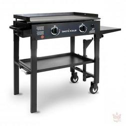Gas Flat Top Grill Griddle 28 Outdoor 2 Burner Propane Profe