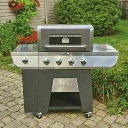 Gas Grill 4 Burner BBQ Grills Stainless Steel Propane Barbeq