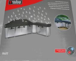 Weber gas Grill Cover for Summit Grill Center with Social Ar