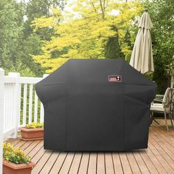Gas Grill Cover Weber Summit 400-Series Brush Tongs Outdoor