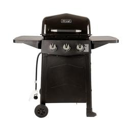 Gas Grill Dyna Glo Burner Open Cart Propane Stainless Steel