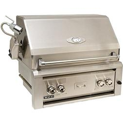 Luxor Gas Grills 30 Inch Built-in Natural Gas Grill With 1 I