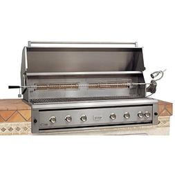 Luxor Gas Grills 54 Inch Built-in Natural Gas Grill With Rot