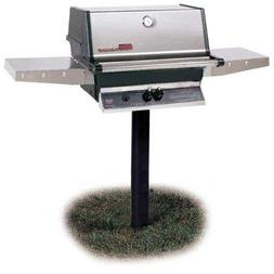 Mhp Gas Grills Tjk2 Natural Gas Grill W/ Stainless Grids On