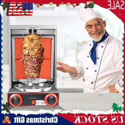 Gas Vertical Broiler Shawarma Machine Spinning Doner Kebab G