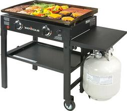 "Griddle Outdoor Cooking Station 28"" Flat Top Gas Barbecue Gr"