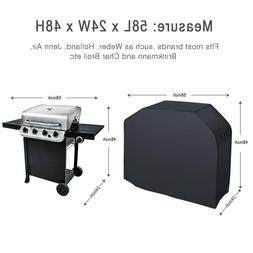 Grill Cover w/Black Storage Bag for Weber Spirit Gas E-310,E