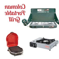 Grill Propane Portable Gas Coleman Tailgate Camp Outdoor Bur