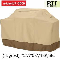 Heavy Duty BBQ Grill Cover Gas Barbecue Outdoor Waterproof W