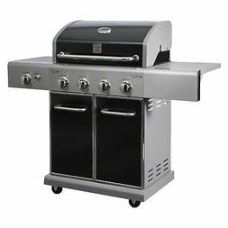 Kenmore Grill- 4 Burner plus Searing Side Burner Grill in Bl