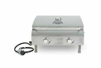 2 burner portable lp gas