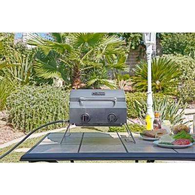2-Burner Table Grill Stainless