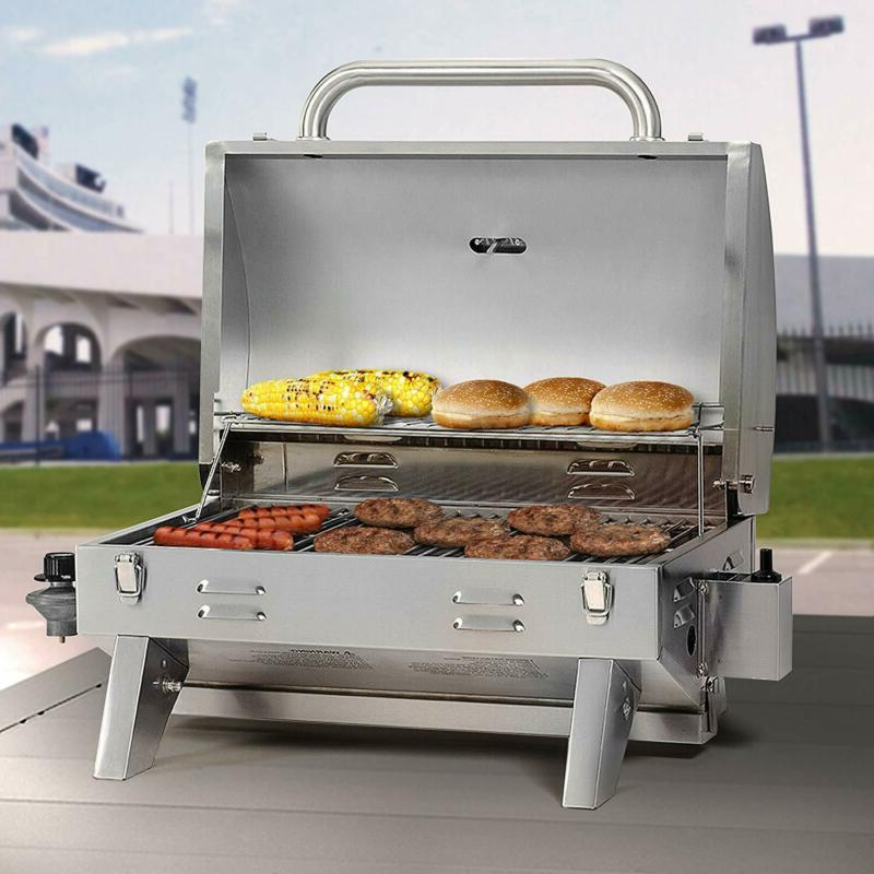 Smoke Hollow Steel Tabletop Propane Gas Grill Perfect