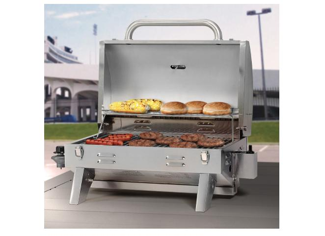 205 stainless steel tabletop propane