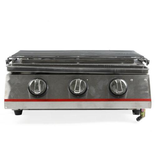 3 Steel Outdoor Cooking