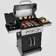 Royal Gourmet 3 Burner  Patio BBQ Propane Gas Grill with Sid