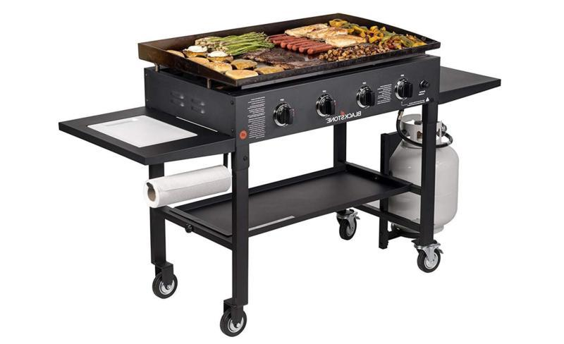 Blackstone Outdoor Flat Top Gas Grill Griddle - Propa