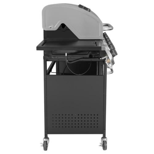 6 Burner Grill in with Sear