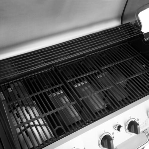 6 Burner Grill Steel with