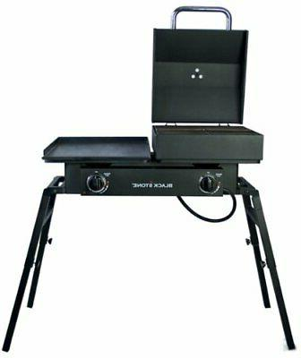Blackstone Tailgater Gas Grill/griddle - 17.58 Kw - Portable