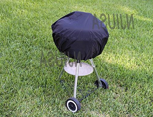 Round Charcoal Kettle BBQ Grill 26 - 31 Diameter EZ Use Cove