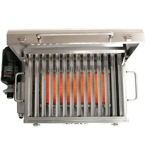 Solaire Propane Gas Grill, Steel