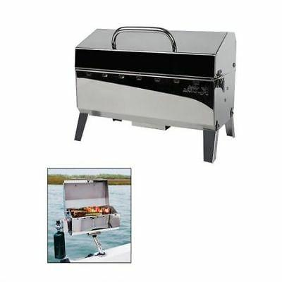 Portable Gas Grill Boat Mount Tailgating Fish