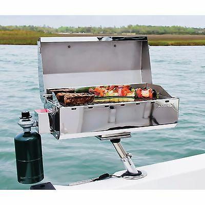 Portable Barbecue Boat Fish BBQ Stainless
