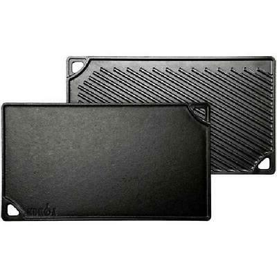 Cast Iron Griddle For Grill Oven Gas Electric Stove Top Stea