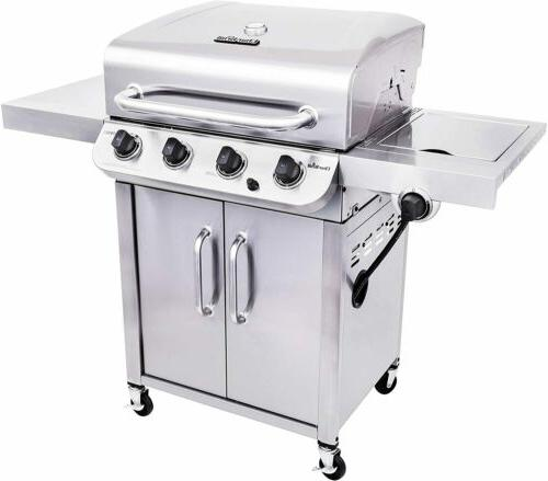 Char-Broil 463375919 Steel 4-Burner Liquid Propane Gas