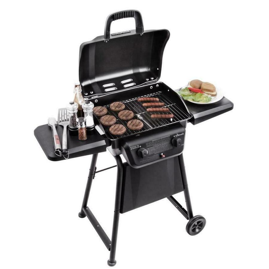Char-Broil Black Liquid Propane Gas Outdoor Cooking