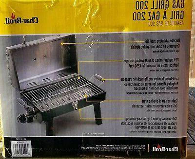 Char-Broil Steel Portable Gas Brand New