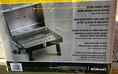 Char-Broil Stainless Steel Gas Grill 465640214 Brand New