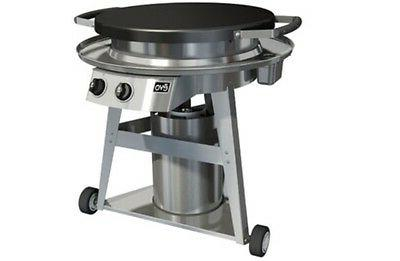 EVO Professional Classic Gas-Fired Flattop Grill With Wheele
