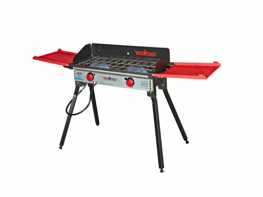 deluxe two burner stove