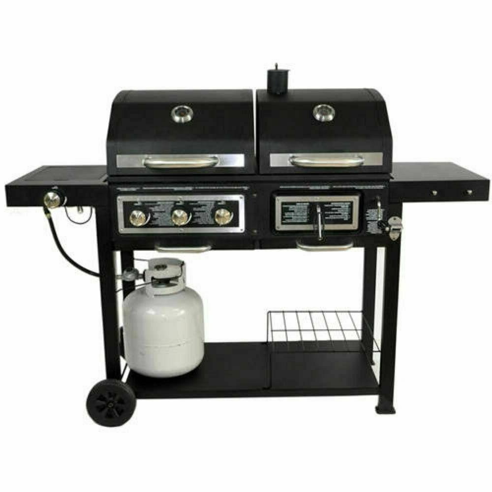 Dual Fuel Grill