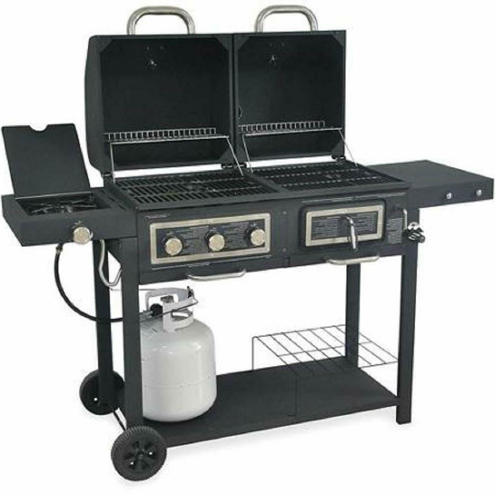 durable barbeque burger gas charcoal