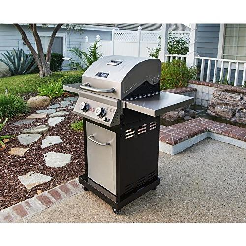 Evolution Propane Gas Grill in Steel with Infrared