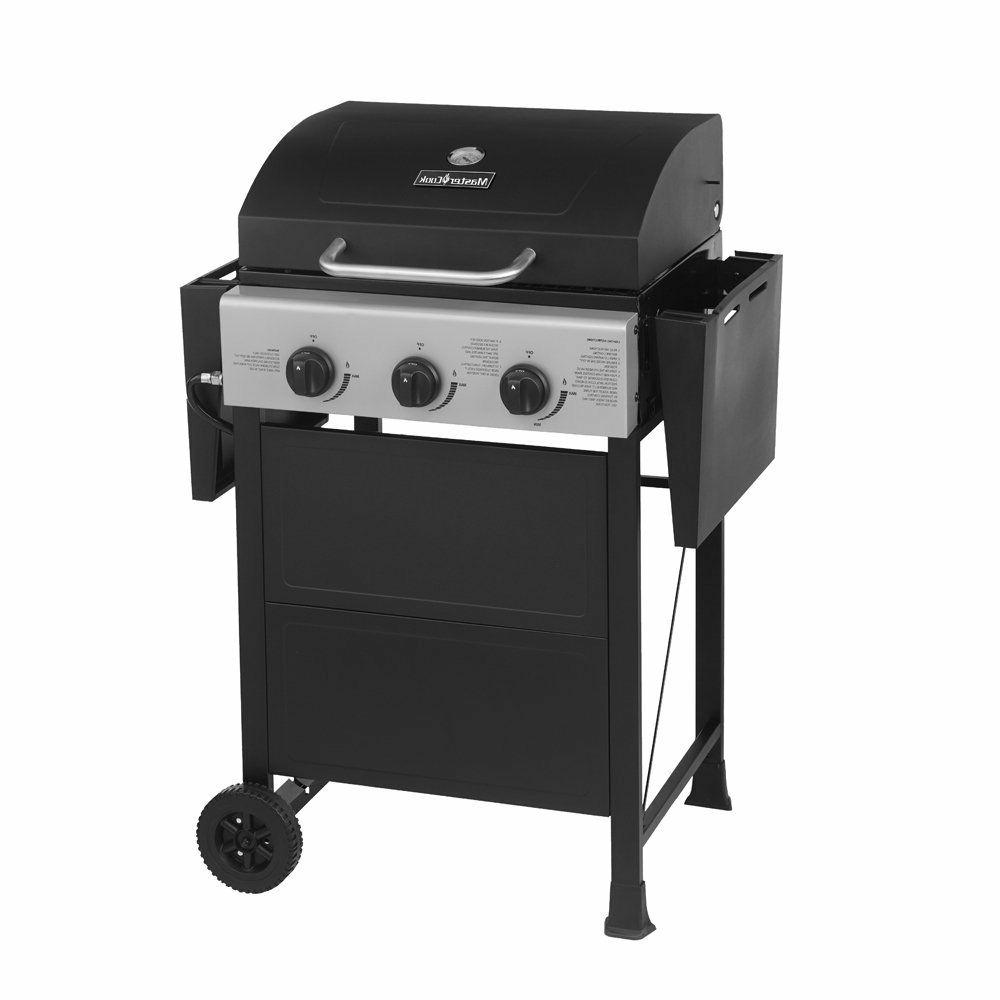 MASTER COOK Propane Gas Bunner with Black