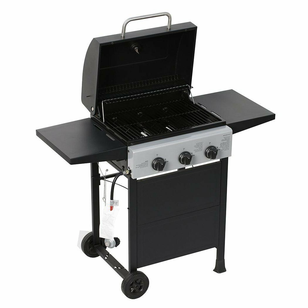 MASTER Classic Propane Grill, Bunner with Black