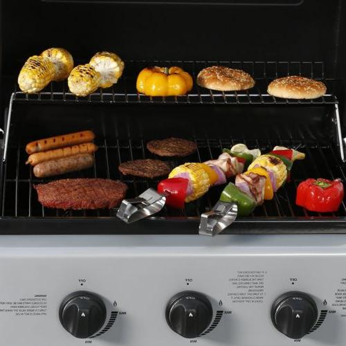 Master Gas 3 Burners Propane BBQ Barbecue Control