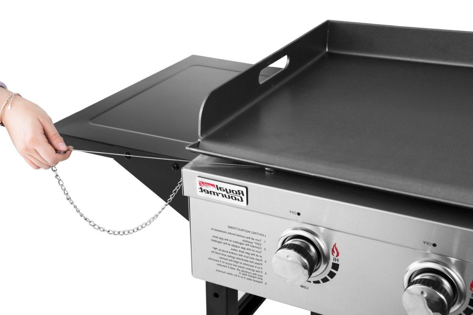 Royal Gourmet Top Gas Grill, 36-Inch Propane Griddle,